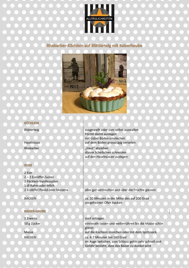 Rezept Rhabarberküchlein mit Haube 2